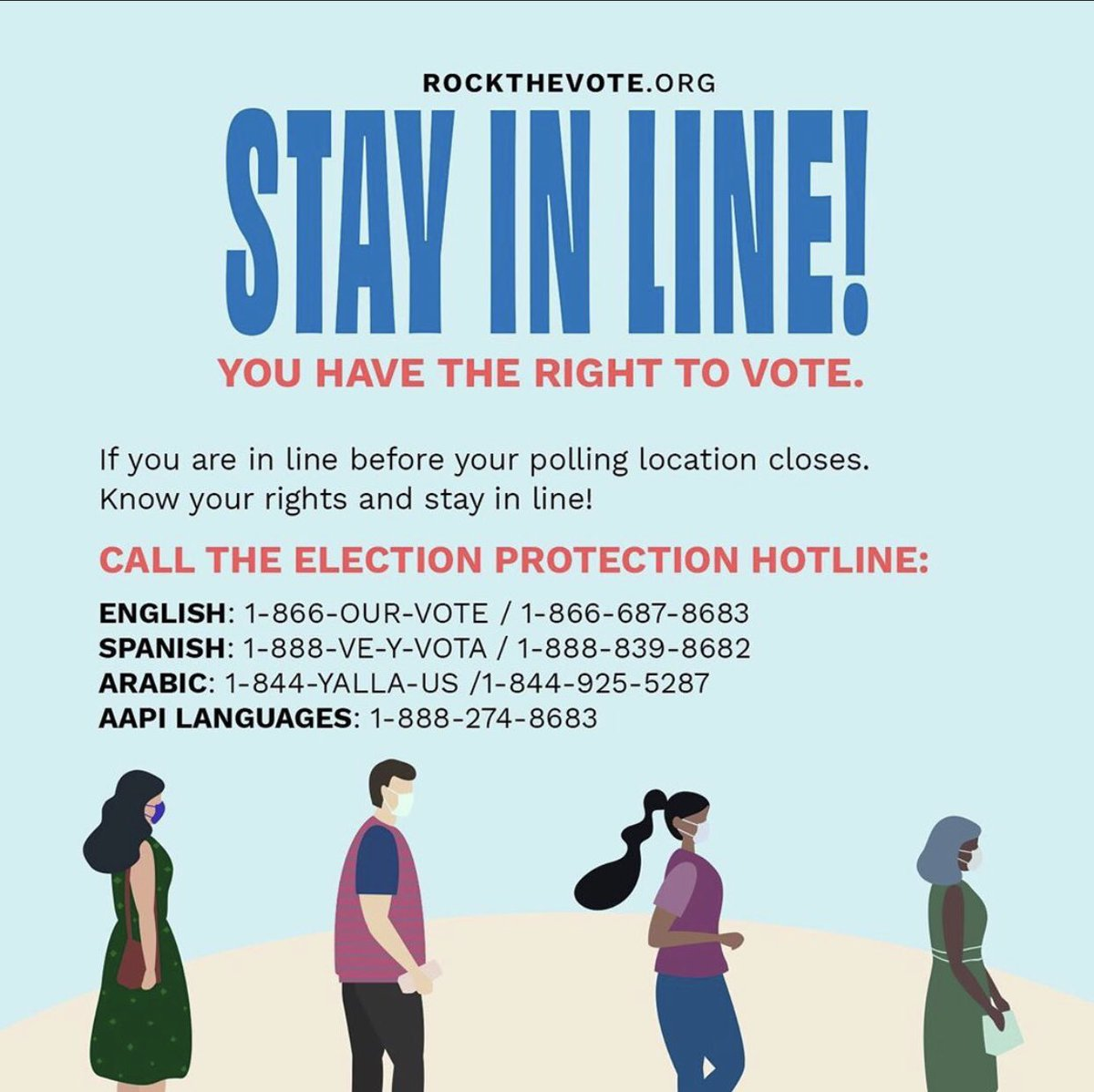 Fight #VoterSuppression and screenshot this one and save it as a part of your #PlanToVote. @RockTheVote #VOTE #VoteEarly #VoteBlue #VoteBidenHarris2020 #VotingRights #BlackLivesMatter https://t.co/mlba3fAVHu