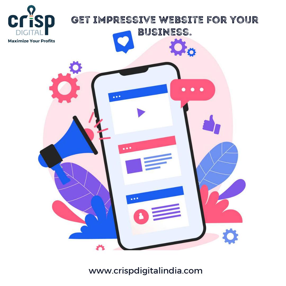 Get impressive website for your business. Get in touch with us TODAY #crispdigitalindia #marketingdigital #digitalmarketing #SEO #SMO #webdevlopment #SEM #SMM  #website #webdesign #socialmedia #socialmediamarketing #socialmediapromotion   visit : https://t.co/jlvIj3Ig4l https://t.co/5Lb3TQ0PGV