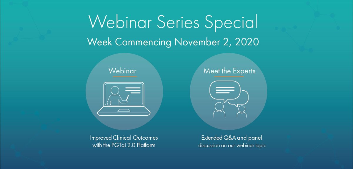 Reminder! Join us next week when we discuss the 1st clinical outcome data on our #PGTai 2.0 platform! Dive deeper into data presented at #ASRM2020 & explore improvements in patient clinical outcomes as observed in a single-center study. Register here https://t.co/TWRW7qYdgi #IVF https://t.co/ZhcZlamg3l