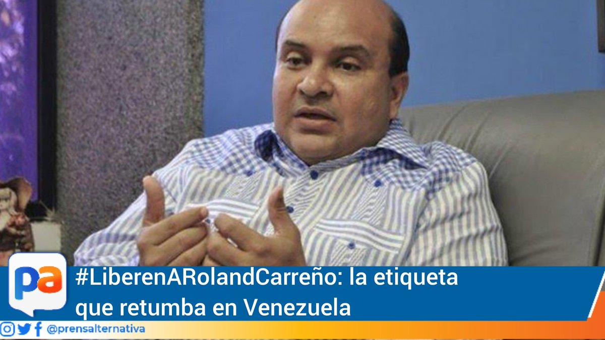 Un día después, con el hashtag#LiberenARolandCarreño, periodistas, personalidades de la política y famosos venezolanos solicitan que dejen en libertad al comunicador social.  https://t.co/EeMMCK5IhR  #Prensalternativa #Cumaná #Sucre #Venezuela #28Octubre https://t.co/3qycTV9l1p