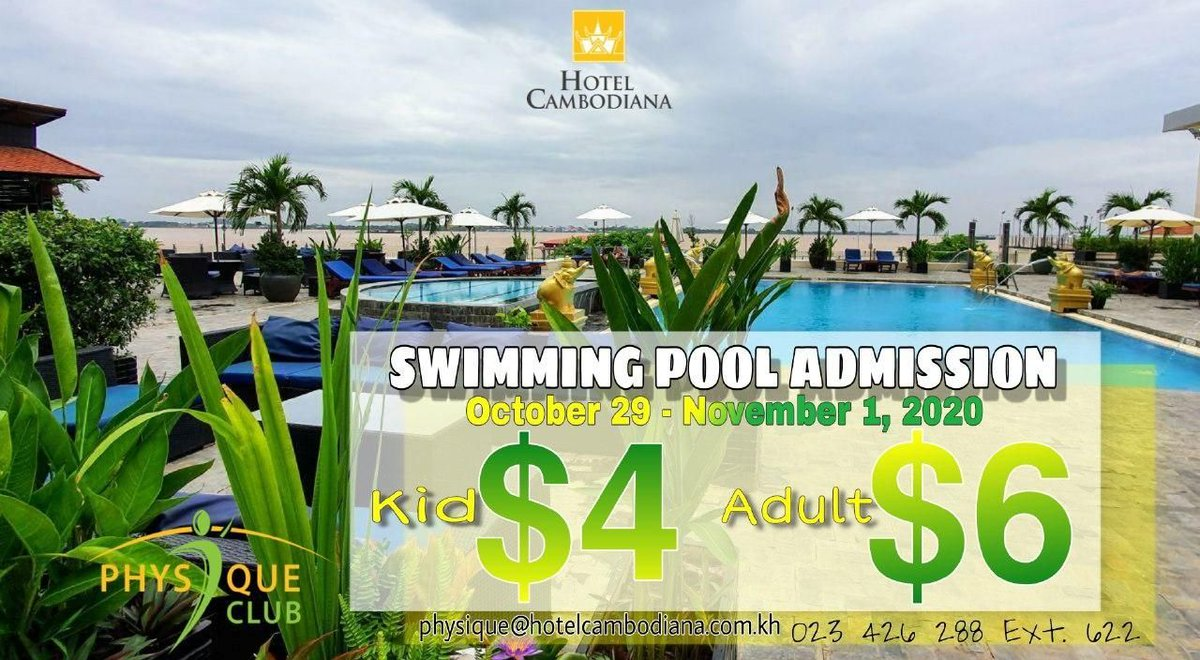 Take a well-deserved break this coming holiday! Take a plunge. Have fun and get refreshed! Snacks menu is also available for your enjoyment! 40% Off is back! Valid on October 29 – November 1, 2020 Open daily from 7:00am - 9:00pm #swimmingpool #swimming  https://t.co/waF6pq1WF3 https://t.co/Eh56GTuUSd