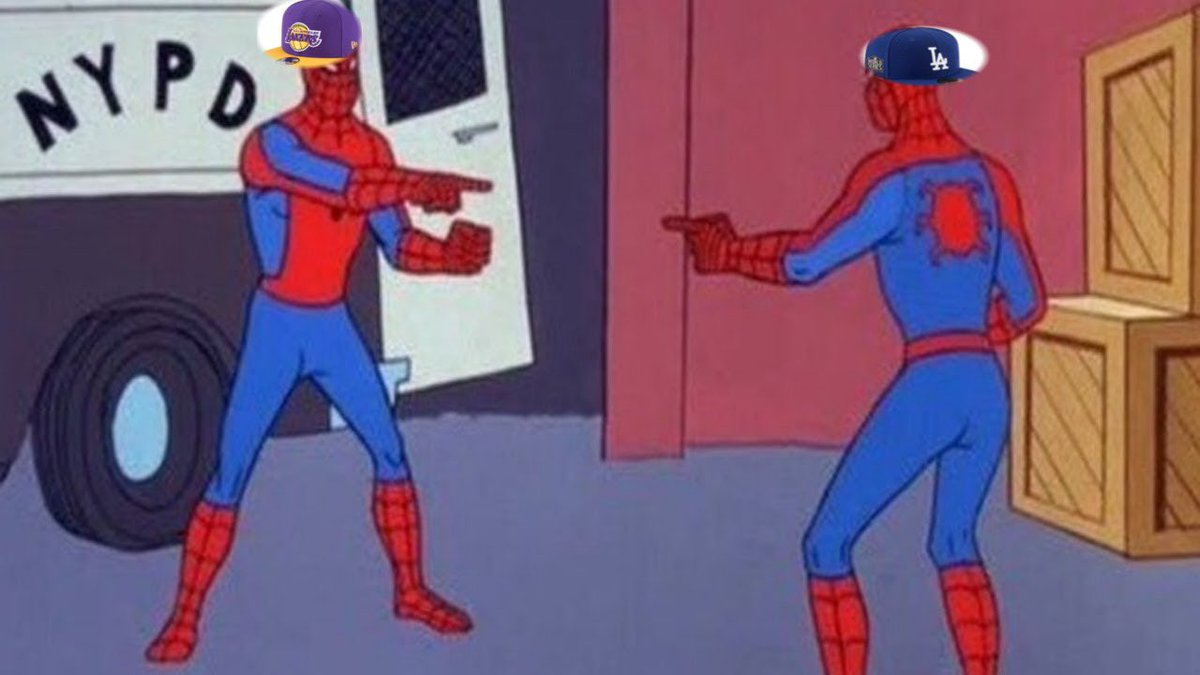 Lakers and Dodgers fans for the next year. #LATogether https://t.co/p5UEgcqKNr