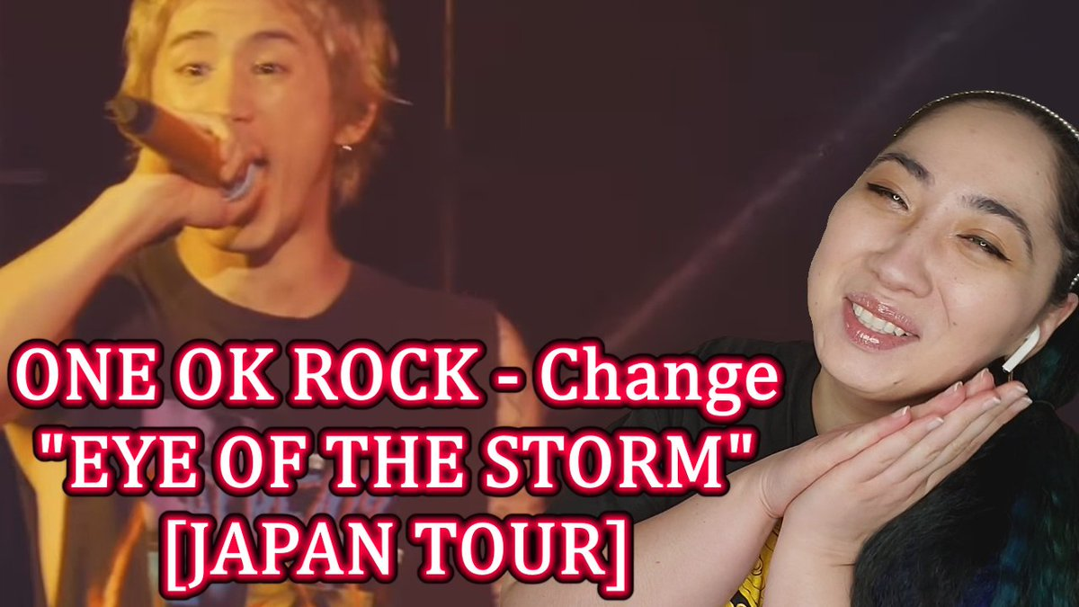 "ONE OK ROCK - Change ""EYE OF THE STORM"" [JAPAN TOUR] | Eonni88  https://t.co/ziHnAyxrMG  @ONEOKROCK_japan  #AngelinaEonni88 #OneOkRock #Change https://t.co/5uthrP2Qsp"