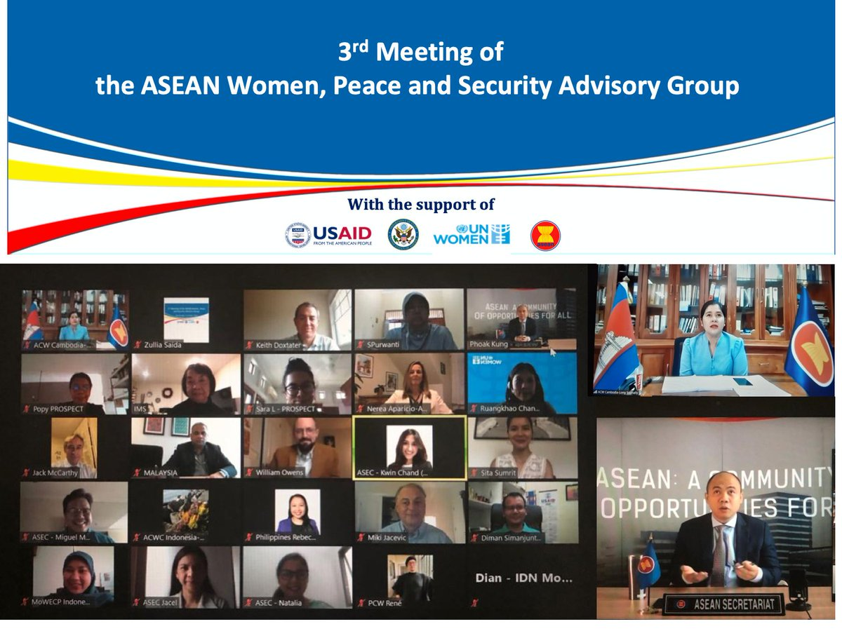 .@USMission2ASEAN @USAID supports @ASEAN's Women in Peace & Security Agenda to uphold women's participation in socio-political & economic life. https://t.co/UQtizuzFBg #USAIDASEAN https://t.co/VtffY4uPoD