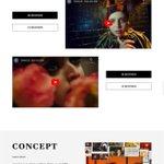 Image for the Tweet beginning: クールなデザイン。 (攻めてるレイアウト)  PARCO 2020 AW #Webデザイン #UX