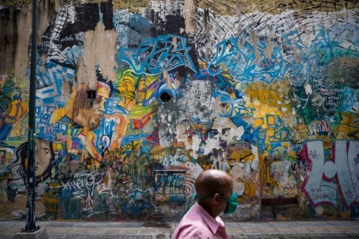🎨De la vanguardia a la propaganda, el arte callejero en #Caracas https://t.co/g7QoFGcs9L #28Oct https://t.co/Gnjg3ymH7G