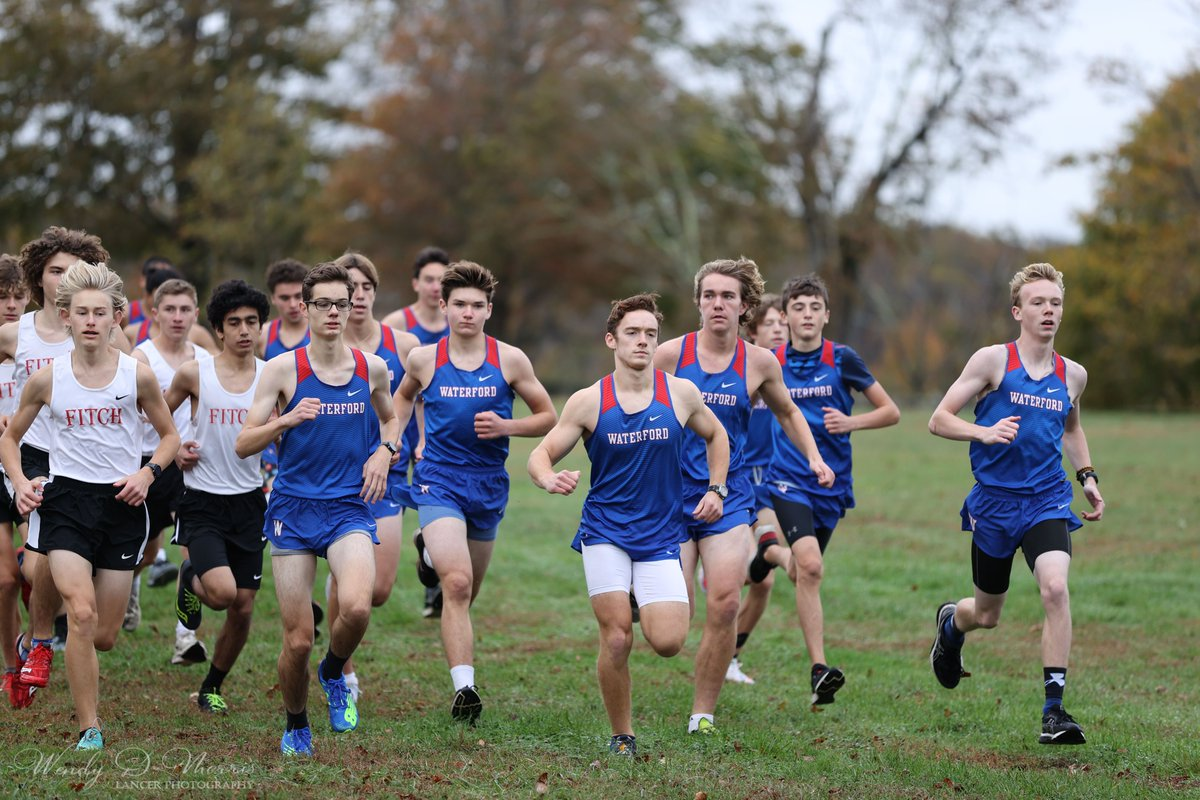 Some pics from the @lancer_sports1 boys cross country meet today vs. @fitchathletics at Harkness. @WPS_CT #GoLancers! https://t.co/oK1qZTCBgm