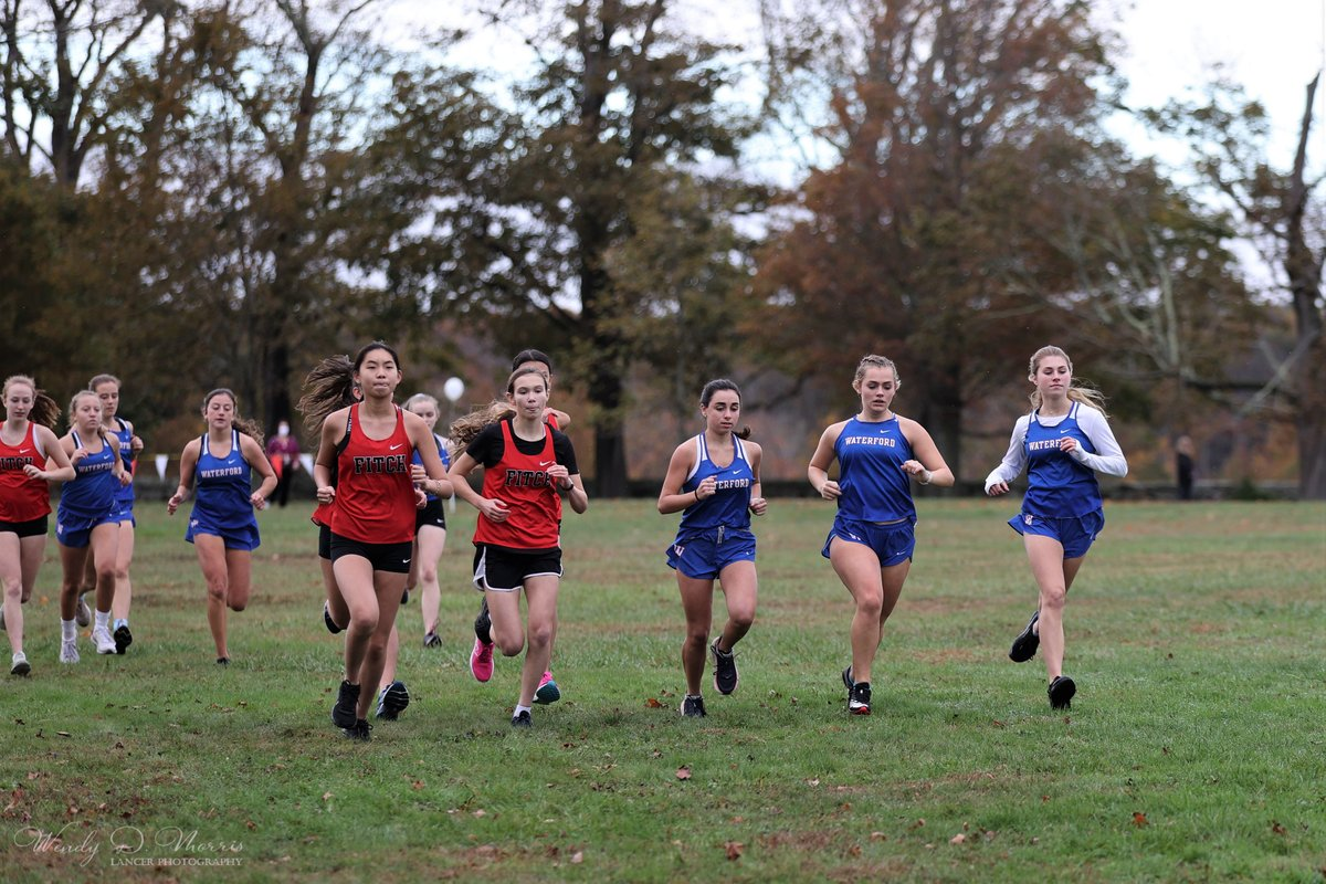 Some pics from the @lancer_sports1 girls cross country meet today at Harkness. @WPS_CT #GoLancers! https://t.co/Zgq4M8XJtD