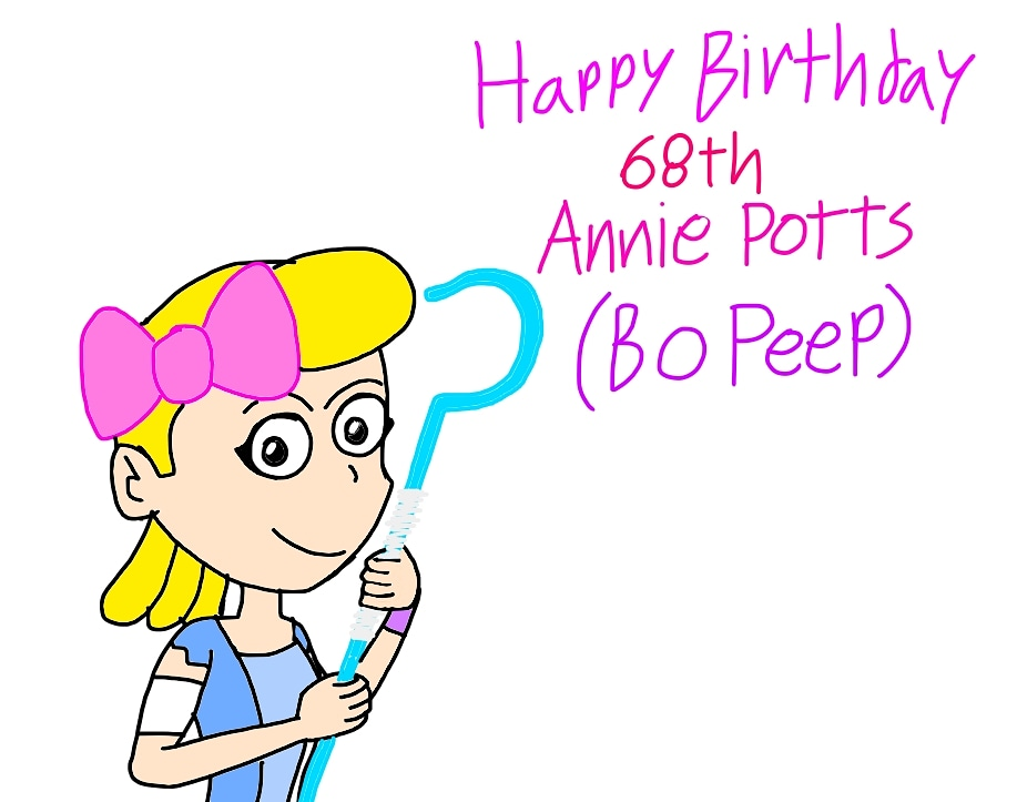 I remake my artwork of Bo Peep's voice actress birthday is aged turn 68. Happy birthday! #toystory #toystory4fanart #toystory4 #toystoryfanart #toystorybopeep #birthday #birthdayactress https://t.co/2LgaSimW4o