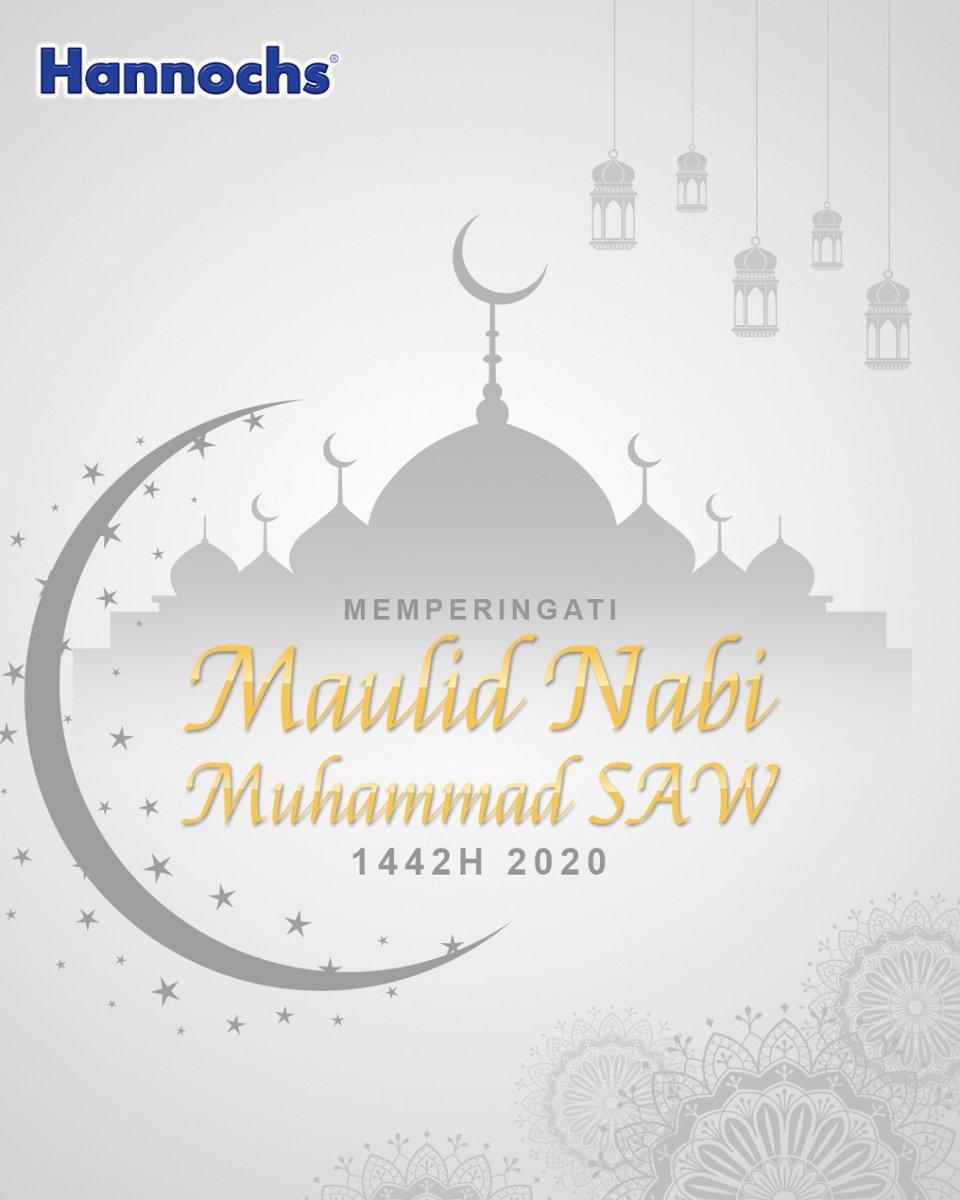 Selamat memperingati Maulid Nabi Muhammad SAW 1442H, 29 Oktober 2020 ! . Hannochs Nyalakan DuniaMu~~ . #Hannochs #NyalakanDuniaMu #maulidnabimuhammadsaw
