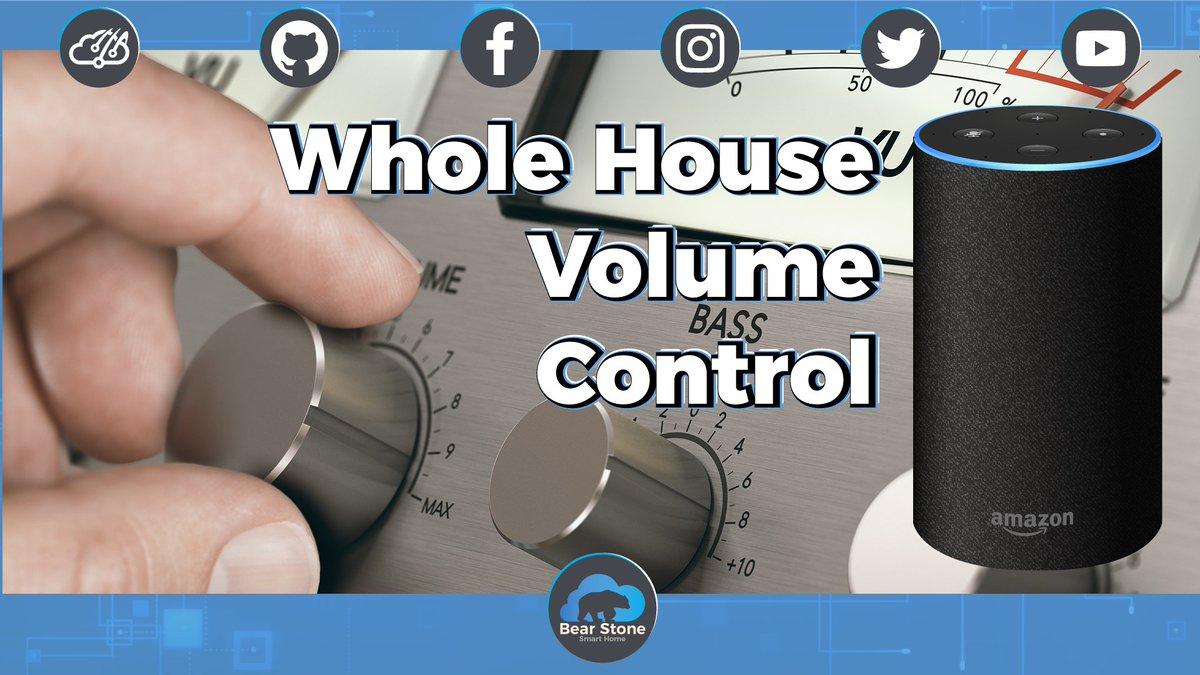 Volume Control using #Alexa Routines (https://t.co/GSKjuZmc0h)#youtube #throwback #IOT #SmartHome https://t.co/u3wxd2SGsw