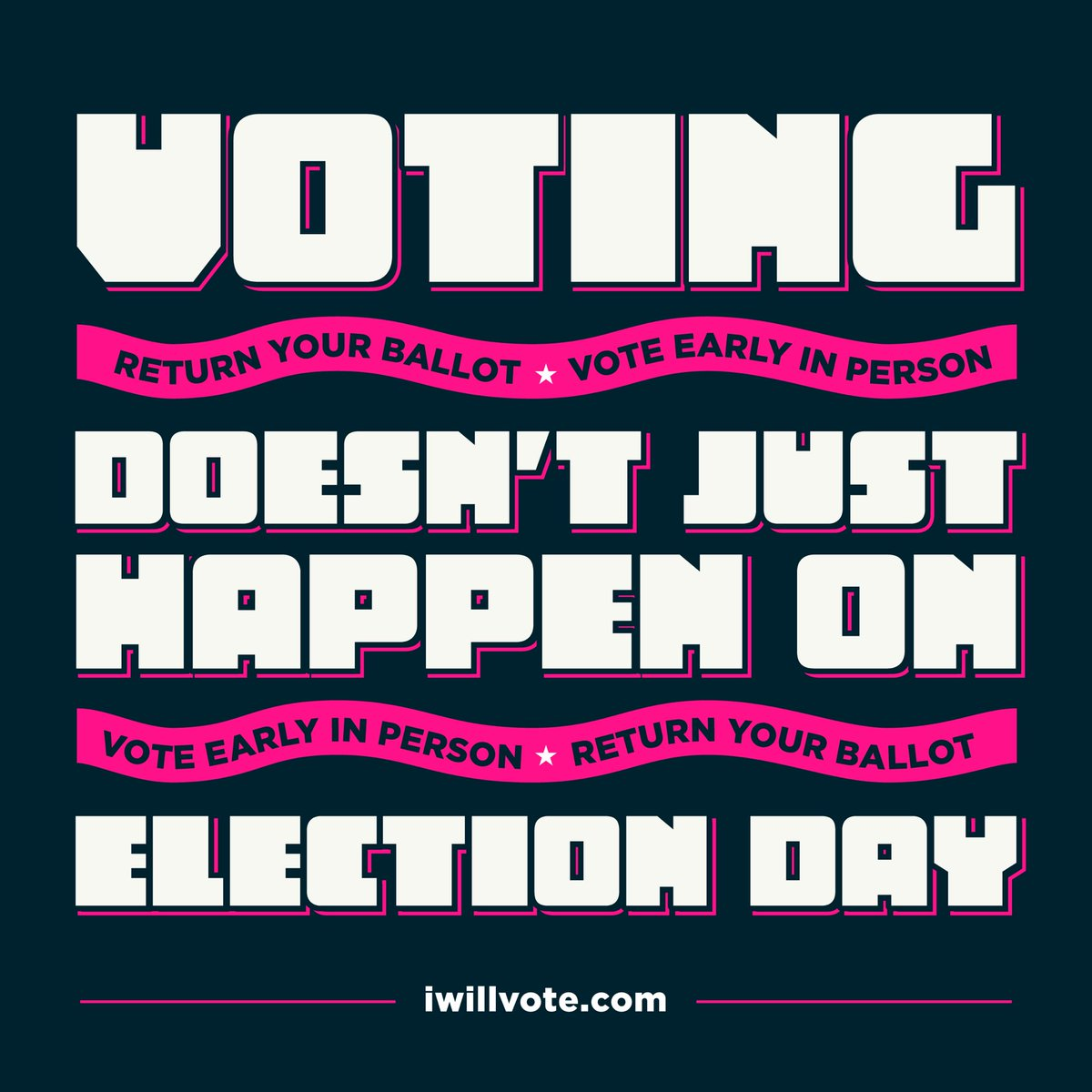 Joe Biden says character is on the ballot. I say reality is also on the ballot. Science is on the ballot. Truth is on the ballot. Don't mail in your ballot, bring it to a designated drop off box. Or vote in person. #VoteEarly