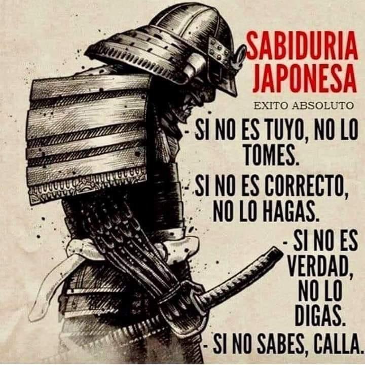 SABIDURÍA JAPONESA 🇯🇵 📜⛩🗻🏯🌊🎍🎎⚔️ ✊⚽️ #sabiduriajaponesa #sabiduria #disciplina #moralidad #sinceridad #sueños #vida #onestidad #honor  #trabajo https://t.co/zoRaDSdAjD