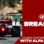 BREAKING: Sauber and Alfa Romeo renew their partnership for 2021  #F1 @alfaromeoracing