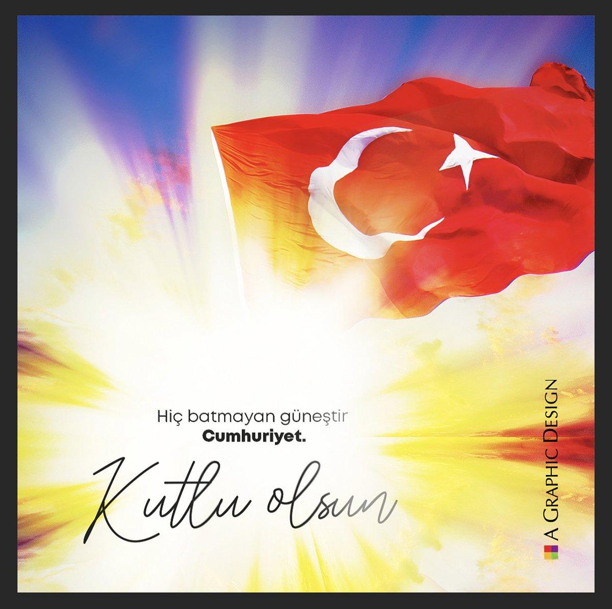29 Ekim Cumhuriyet Bayramımızın 97. yılı kutlu olsun! 🇹🇷 #29Ekim #CumhuriyetBayramı #agrafikdizayn https://t.co/dm392AO3fX