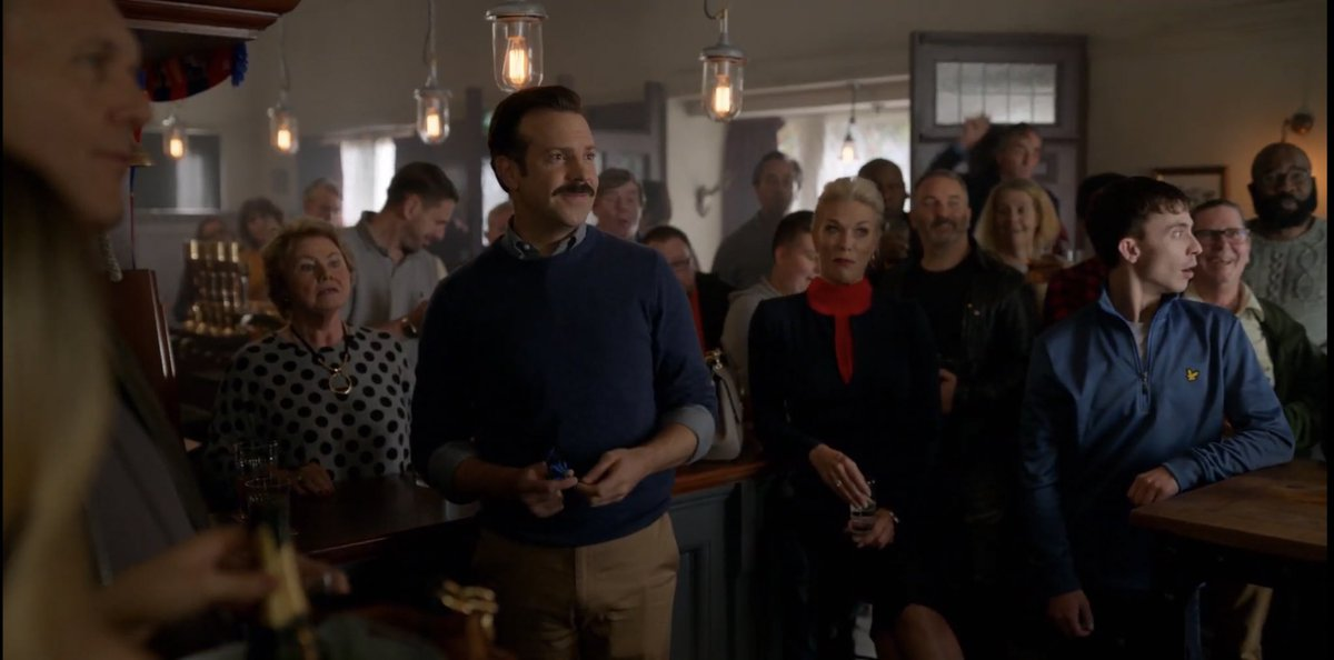"""Brad Galli on Twitter: """"""""Be curious, not judgmental."""" -Walt Whitman -Ted  Lasso Watch this show. Get to this scene, and prepare yourself to feel  every emotion. I'd love to talk to Jason"""