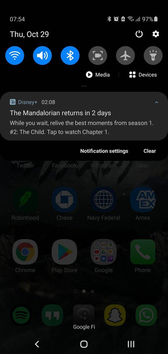 RestfulChaos - Best news! Mandalorian inbound!