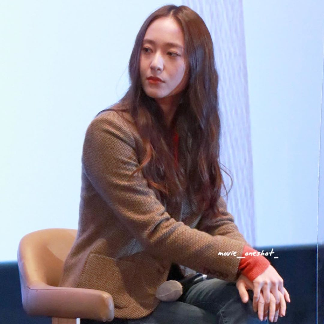Krystal at BIFF #MoreThanFamily #애비규환
