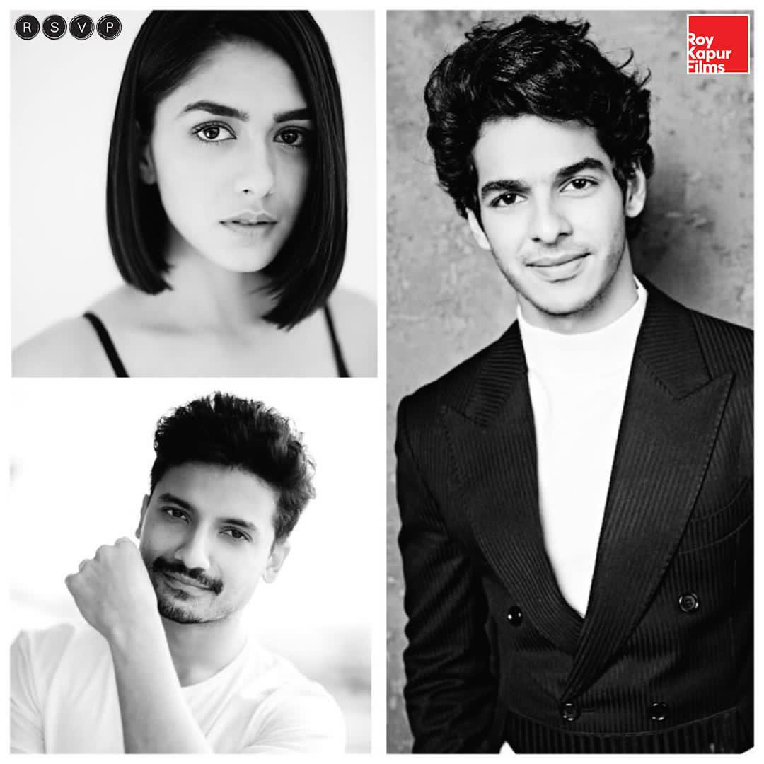 2020 just got so much better 🙋🏻‍♀️  This squad is all set to roar, excited to be a part of such a wonderful team! #Pippa  @RajaMenon #IshaanKhatter @priyanshu29 @RonnieScrewvala #SiddharthRoyKapur @RSVPMovies @roykapurfilms