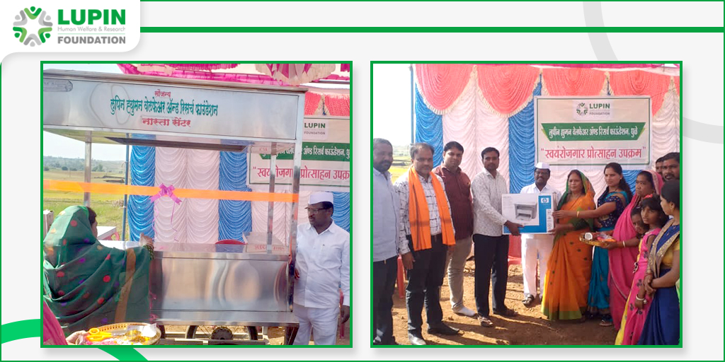 #LupinFoundation Dhule supported #Farmers with #PullCart and #Printer for their livelihood with the hands of MLA Sakri Block and Other Guests.  #LupinCares #LivelihoodsMatter #FarmerLife #SupportingLife #FarmerLivelihood #LivelihoodProgram #LivelihoodIndia