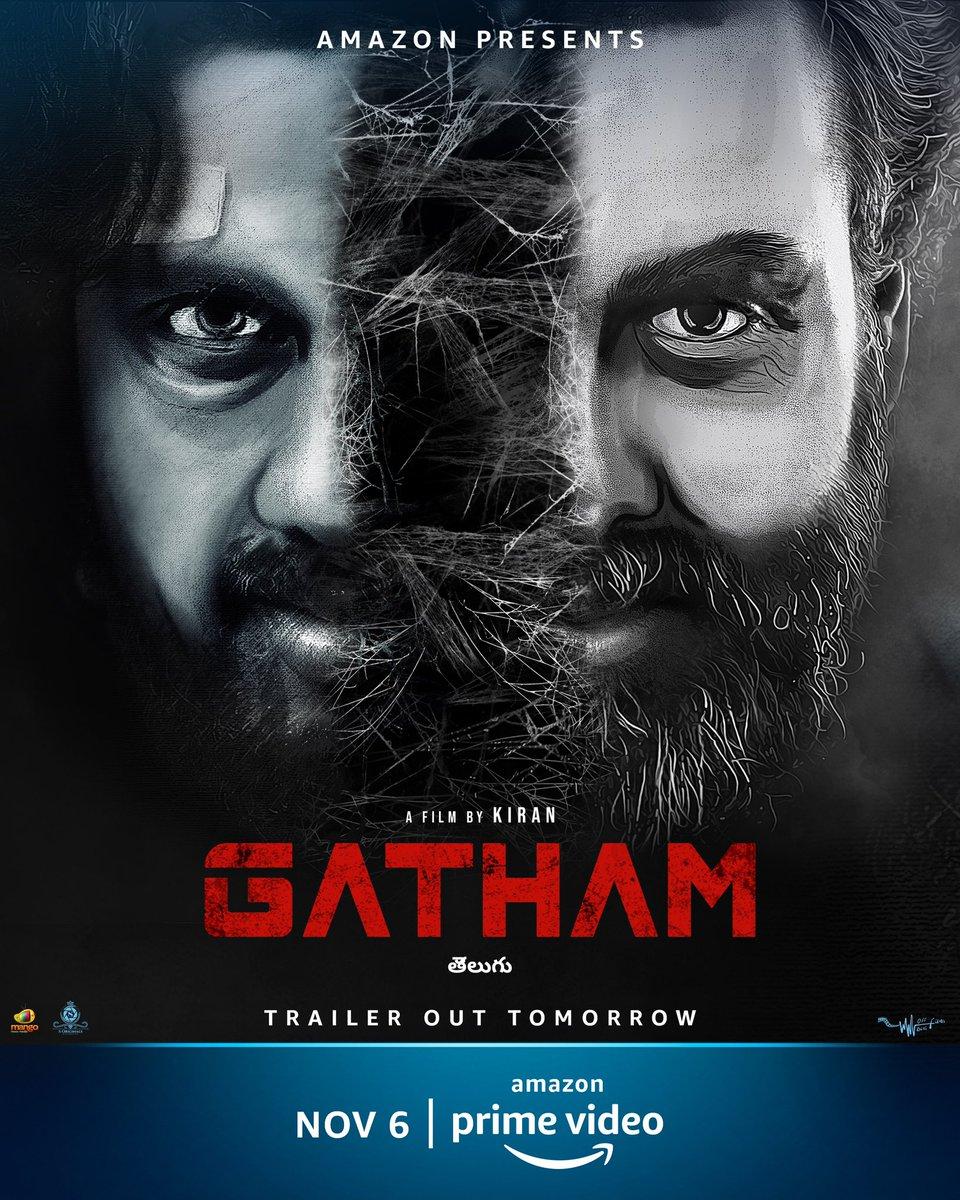 The clock is ticking... They are going to take your breath away! Trailer out tomorrow. #GathamOnPrime premieres on Nov 6   @bpoldaz @rakesh_galebhe #PoojithaKuraparthi @kiran_twytter @HarshaPratap @nooble451 @SricharanPakala #OffBeatFilms @SOriginals1  #MangoMassMedia https://t.co/42bzROPCzC