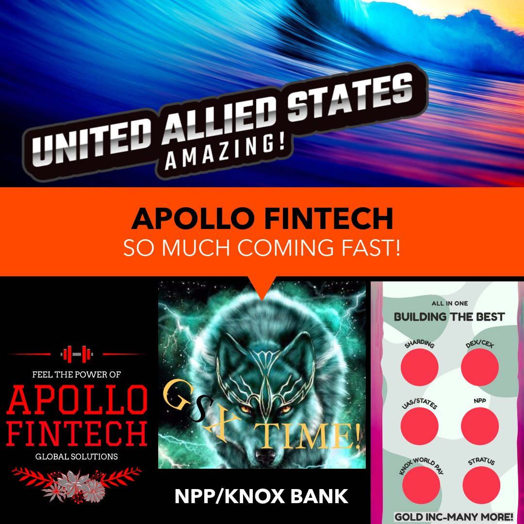 #IMPRESSIVE #HISTORIC #INCOMING #APOLLOFINTECH https://t.co/R9XWcty9xs