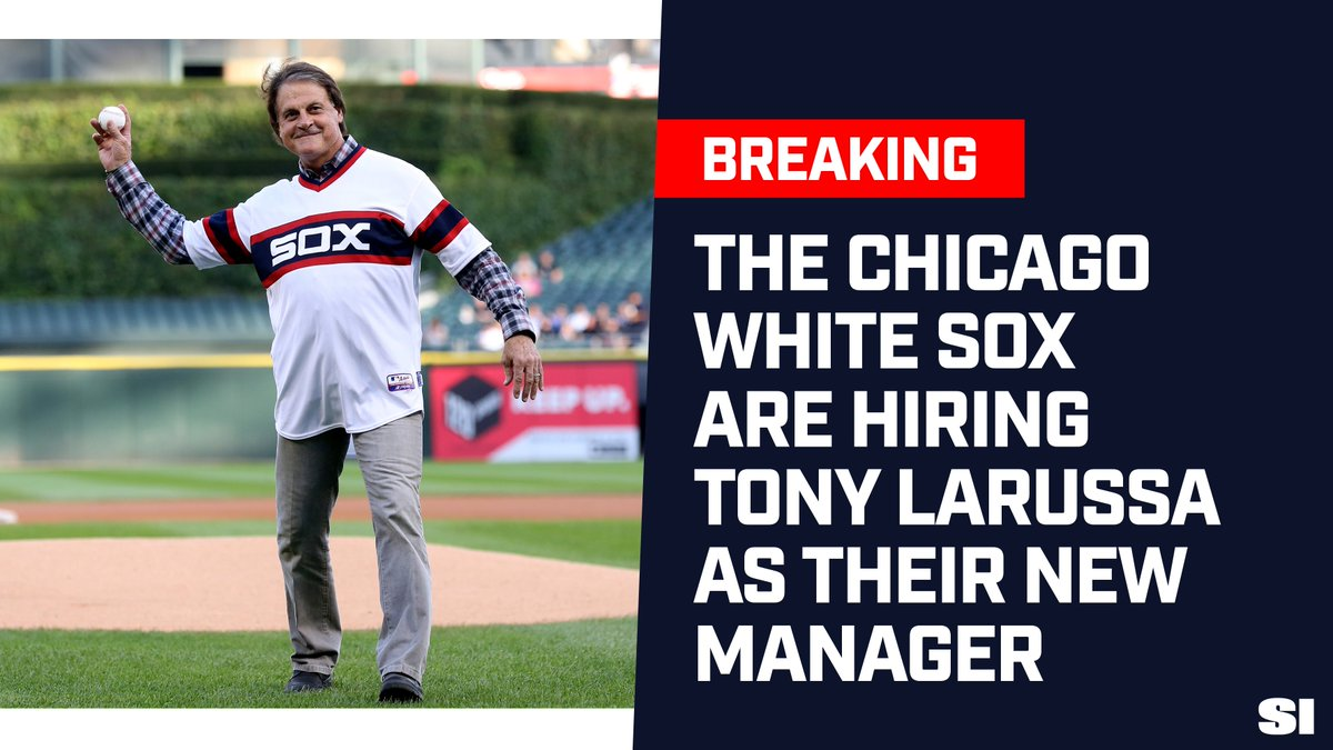 Tony La Russa has been named the new manager of the Chicago White Sox https://t.co/3V06tIsBAX