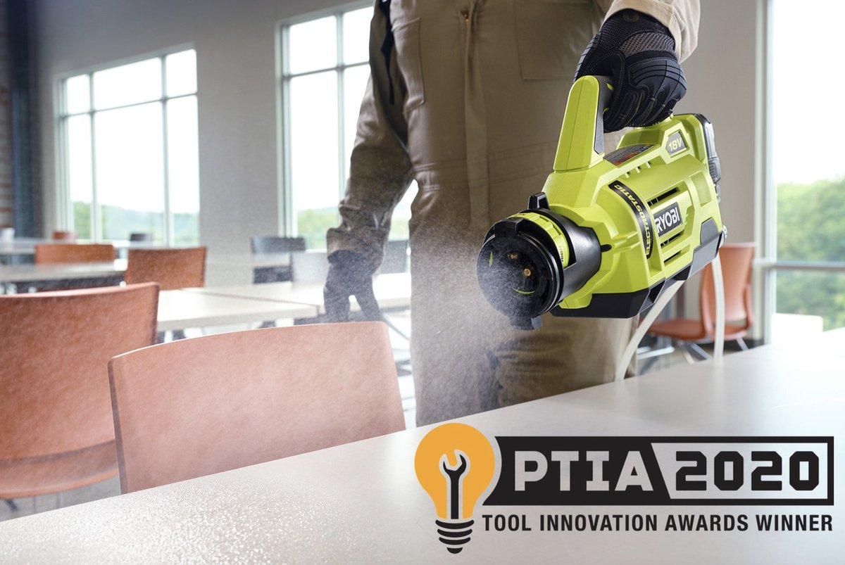 2020 Pro Tool Innovation Award Winner - The 18V ONE+ 1 Gallon Electrostatic Sprayer in stock now at Home Depot Pro!