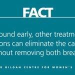 Image for the Tweet beginning: Fiction: A double mastectomy is