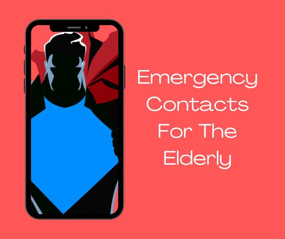 List of #emergency contacts for the #elderly  Link: https://t.co/VAj12cEuhg  #care #homecare #business #dementia #health #healthcare #jobs #covid #covid19 #coronavirus #senior #like #follow #carehomes  #leadership #management #socialmedia #networking #hiring #success #inspiration https://t.co/uQG0n6oYZ1