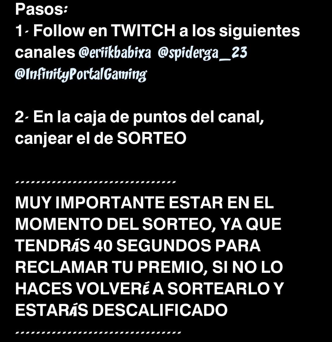 AQUÍ DEJO TODO BIEN CLARO #streamer #twitchespaña #twitchaffiliate #streaming #pcgaming #follow #twitchspain #sorteotwitch https://t.co/Mwvph5YbmB