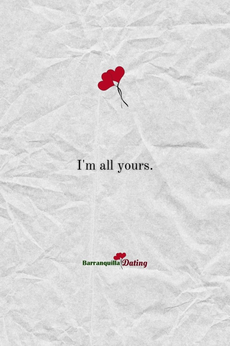 """I'm all yours."" a very sweet words to tell your partner. A word that will help your relationship bloom.  #relationship #dating #date #datenight #relationships #relationshipadvice #relationshiptips #lovetips #loveadvice #loving #findinglove #sweetlove #sweetdate #sweetwords https://t.co/qahcowwVGk"