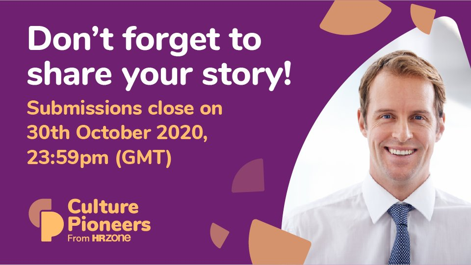 Only 1 day to go until our #CulturePioneers deadline! Dont forget to share your stories of how your organisation has adapted its learning approach during the pandemic: buff.ly/2Y6d1NW