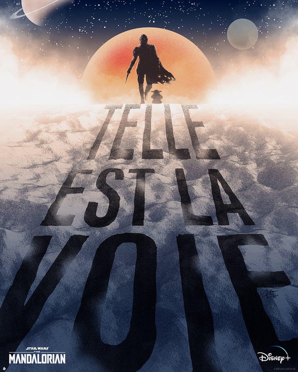 Telle Est La Voie (art by @S2lart) Este Es El Camino (art by @alexandraespa) (2/4) https://t.co/onmQu7L19y