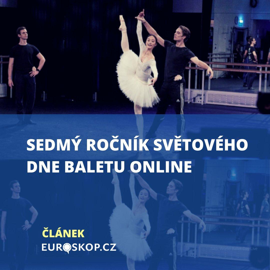 .🎉 Dnes slavíme Světový den baletu #WorldBalletDay! 🩰 Podívejte se na výběr evropských baletních scén z letošního již 7. ročníku ➡️ https://t.co/WLnp8TYZwf #balet #ballet #online #kultura #EU #Evropa https://t.co/23T4MCbDLy