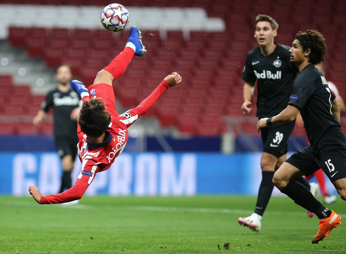 ⭐ João Félix nominated for #UCL Player of the Week! 🙌 The 🇵🇹 magician netted a brace in #AtletiRBS ⚽  VOTE! ➡️ https://t.co/9un1qBVpu7  🔴⚪ #AúpaAtleti https://t.co/BBeAYhNTgD