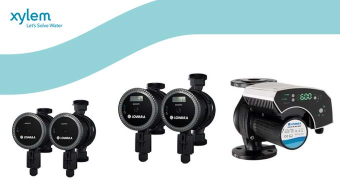 Las bombas de rotor húmedo ecocirc XL y Xlplus #Lowara son fáciles de instalar, programar y máx. eficiencia. Con control aut. de: presión proporcional...