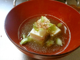 最速の湯豆腐