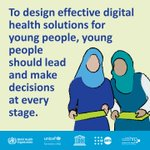 Image for the Tweet beginning: 🆕 guidance from WHO, @UNICEF,