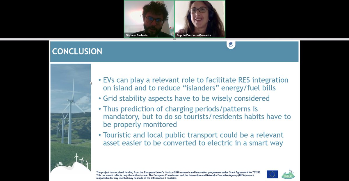 @H2020SMILE is promoting  #electromobility among residents and tourists, its benefits are huge!