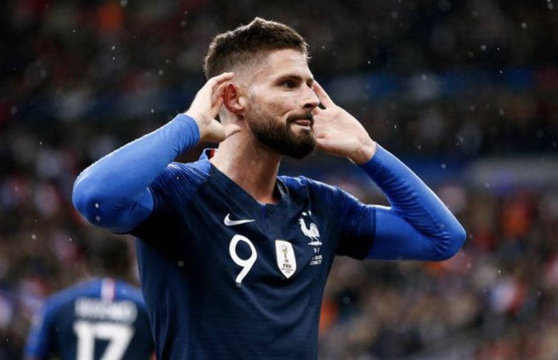 Criticised for France. Criticised in England.  Giroud has had by far one of the most underrated careers.  Elite mentality, professionalism & always gives his 100%.  1 X World Cup 1 X Europa League 1 X Ligue 1 4 X FA Cup  France's 2nd all time leading goalscorer.  Class. https://t.co/DuogZHMwrb
