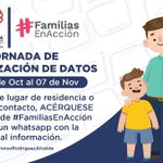 Image for the Tweet beginning: Beneficiarios de #FamiliasEnAcción: sus datos