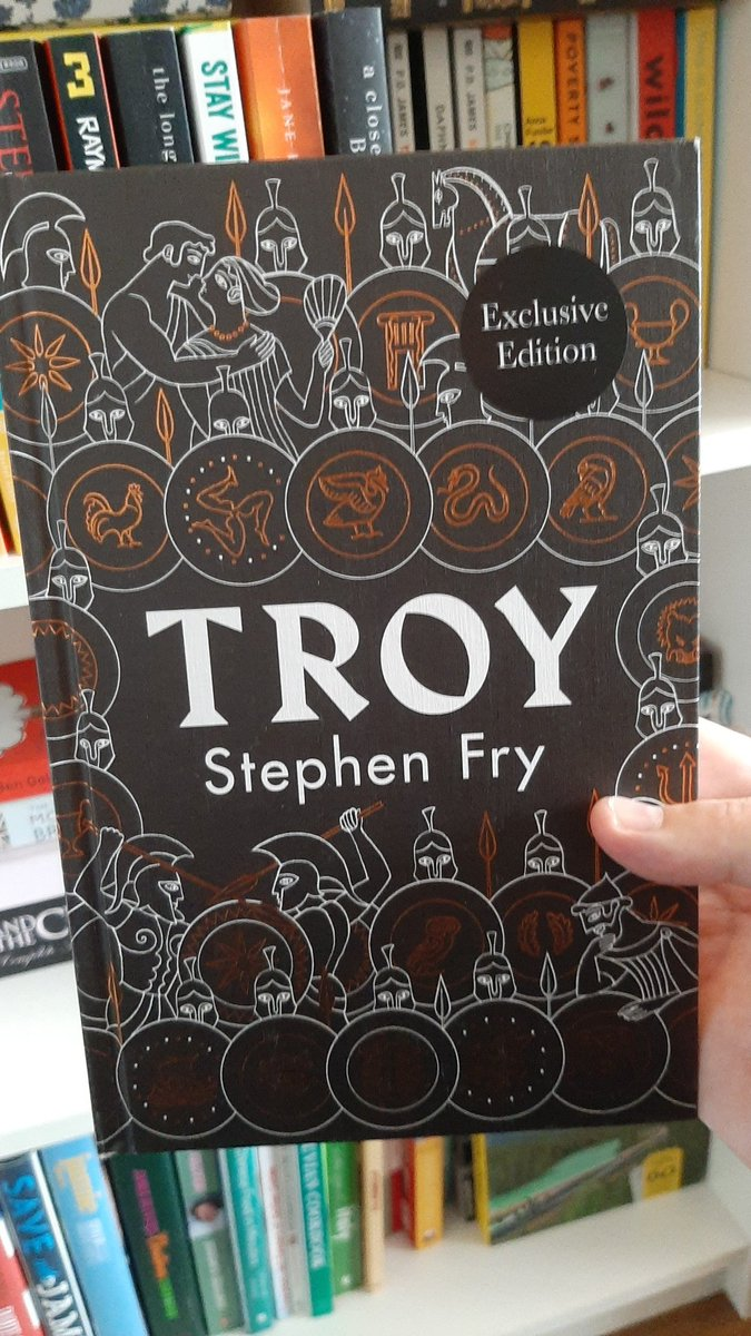 @stephenfry Already getting stuck into my copy!