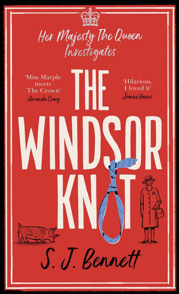 Is the Queen secretly a crime-solving super sleuth? Happy publication day to the lovely @sophiabennett - The Windsor Knot is out today and is *exactly* my cup of tea.