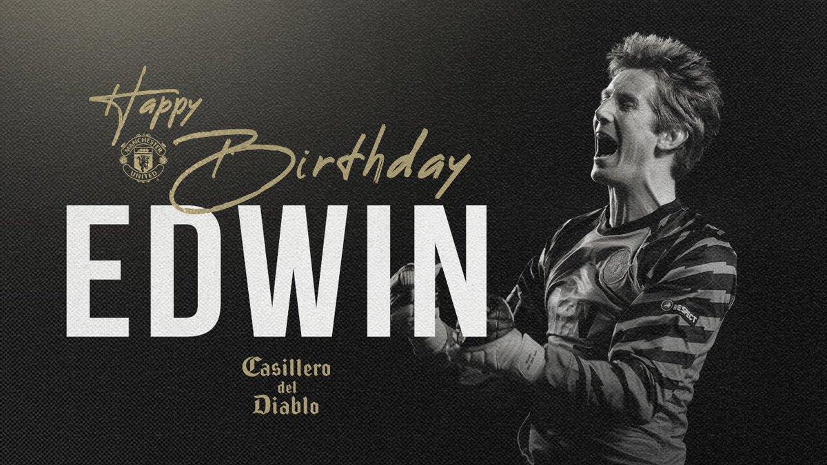 Replying to @ManUtd: A big happy birthday to @VdSar1970!🙌❤️  #MUFC @CasilleroDiablo