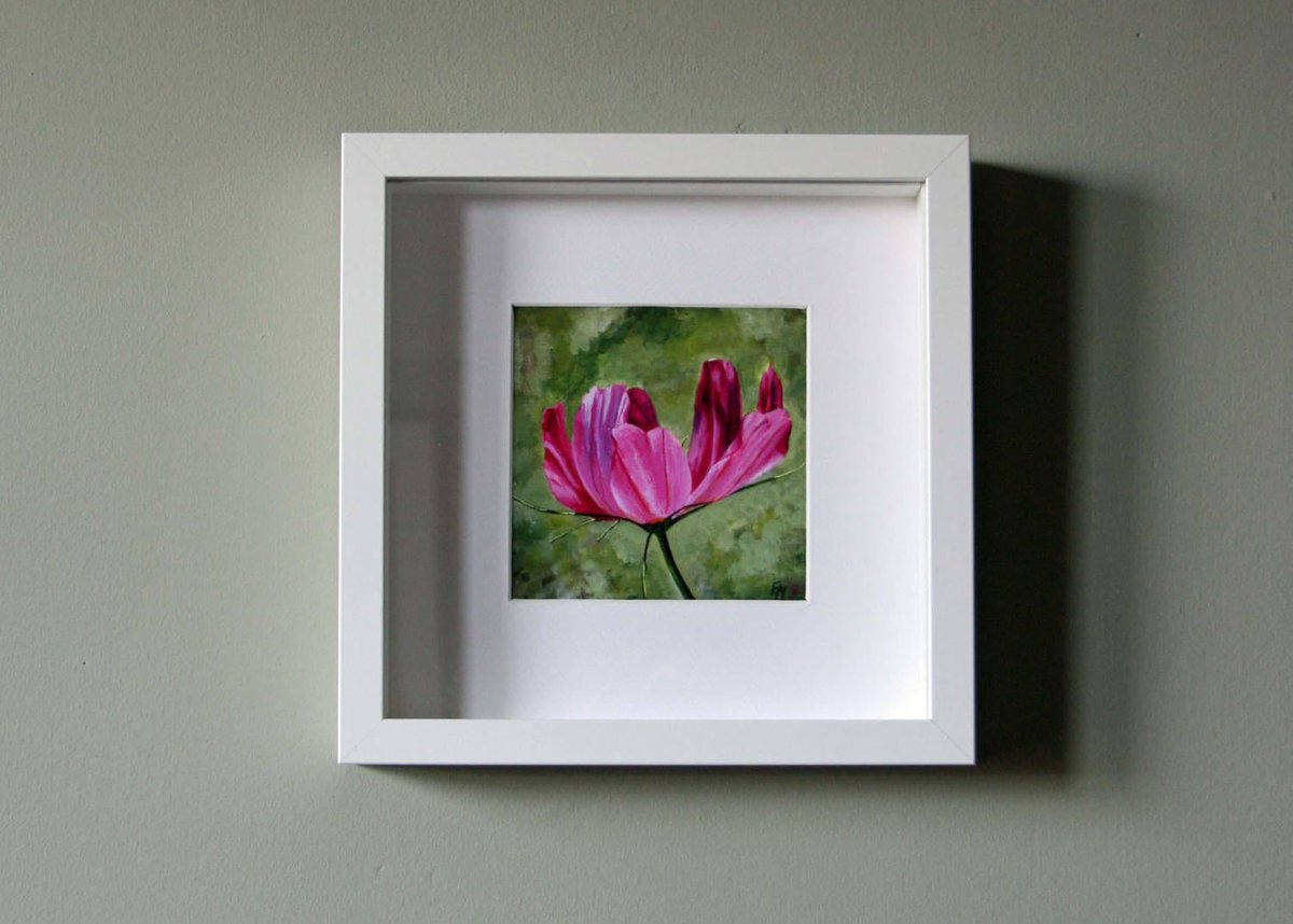 SALE! I've added this pretty floral print (unframed) to the SALE section of my #etsy shop (only £10) 👉 https://t.co/EE0YcMufLE #elevenseshour #sale #giftideas #flowerart https://t.co/UxmOZj9e0E
