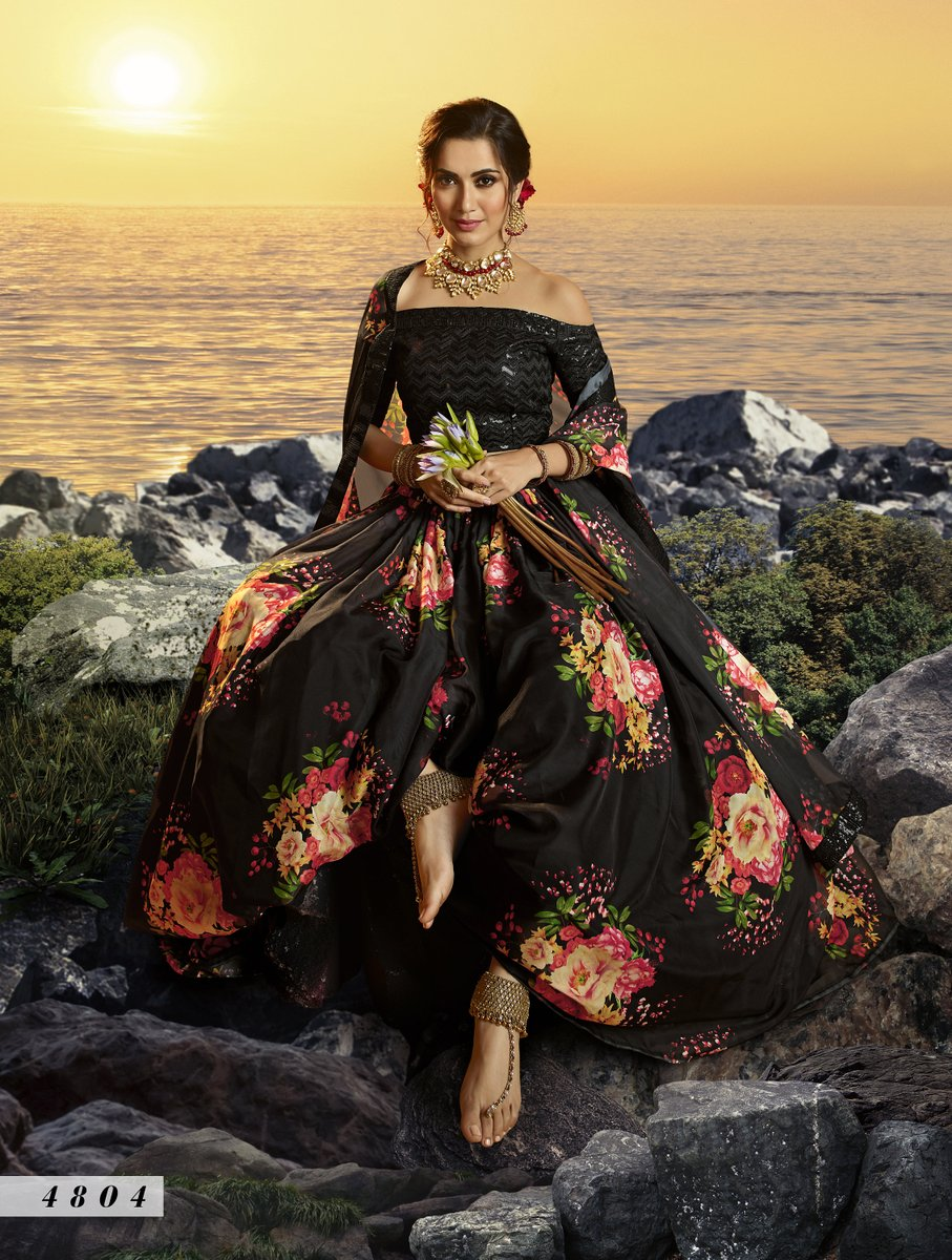 Excited to share the latest addition to my #etsy shop: Organza Bollywood Lehenga Choli with Printed Work For USA Wedding Diva On Bridal Wedding Outfit Boutique   Etsy Christmas Sale 2020 https://t.co/bHBC5q6ybB #black #quinceanerasweet16 #floral #victorian #yes #boat https://t.co/g5ssDqtKUS