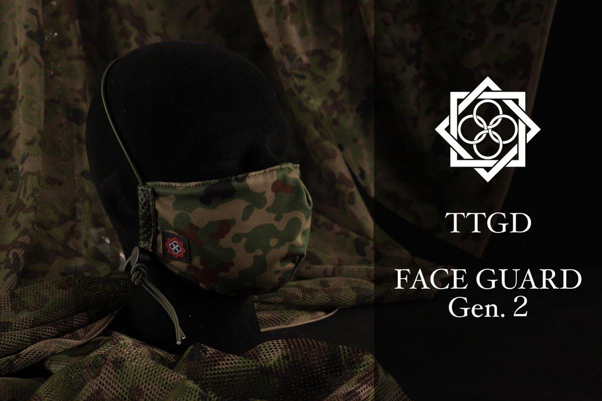 フェローズ名古屋店です!田村装備開発 TTGD FaceGuard Gen.2 各色入荷しました!下記通販ページより購入可能です!#フェローズ #田村装備開発 #マスク