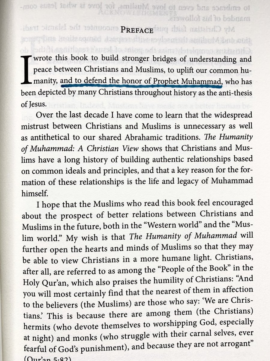 """I am an American, Christian, & Westerner who is both able & willing to defend the honor of Prophet Muhammad. In fact, the notion of """"defending the honor of Muhammad"""" is literally noted as an aim of my latest book. There are other people like me who will also defend his honor."""