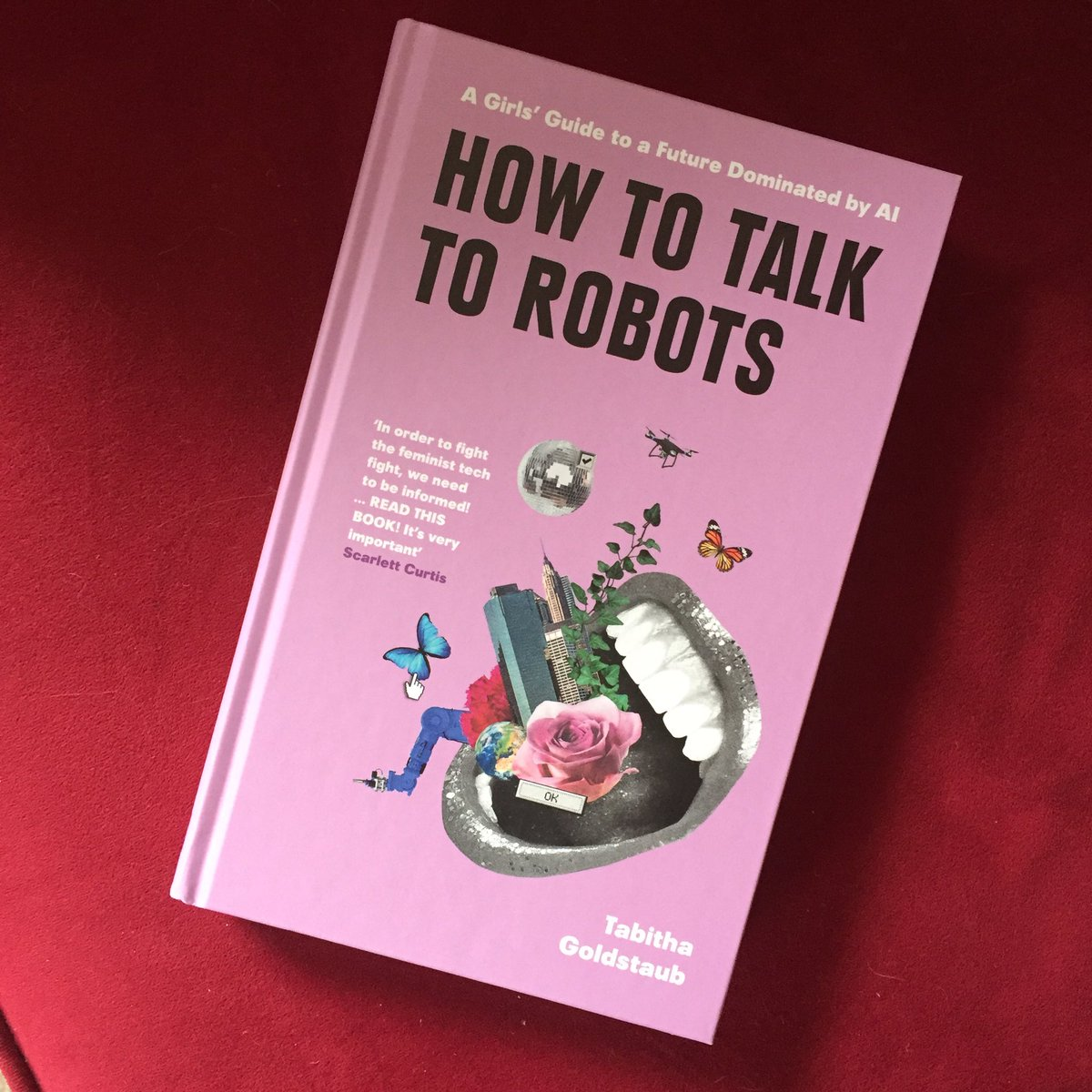 @tabithagold first book 'How to Talk to Robots' just landed on my doormat, bang on time for my rainy Hallowe'en weekend away to #Brixham 🤗🤖🎃Hopefully not too spooky a read! #ai #agi #feministtech #techforgood #genderdatagap #gendertechgap